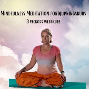 Mindfulness Meditation Fördjupningskurs – Webbkurs